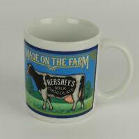 Vtg 1993 Hershey's Milk Chocolate Made on the Farm Cow Coffee Cup Mug