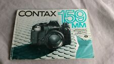 Contax 159mm Instruction Book