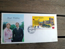 STAFFA SCOTLAND ROYAL WEDDING  PRINCESS ANNE  FIRST DAY COVER