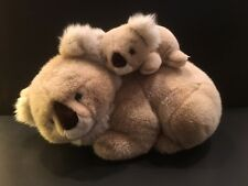 Vintage Plush Mom & Baby Koala Bears -Dakin Elite Italian Trudi Div-New-Last one