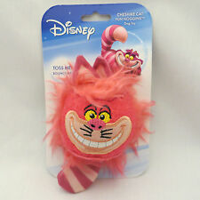 Disney Cheshire Cat Dog Toy Fun Noggins Ball New Fuzzy Fetch Alice in Wonderland