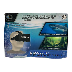 """2016 Discovery Virtual Reality Glasses Smart Phones Holds Screen 4-5.5"""" It/694"""