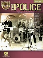 Guitar Play-Along The Police Learn to Songs Chart Hits Tunes POP MUSIC BOOK & CD