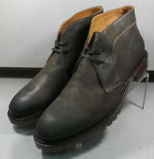 241710 DARK BROWN MSiBT60 Mens Shoes Size 8.5 M Made in Italy Johnston Murphy
