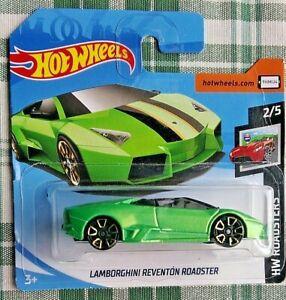 LAMBORGHINI Reventòn Roadster verde 1.64 HOT WHEELS