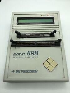 Universal Simm Check 30 & 72 Pin Memory Module Tester BK Precision #898 No PS