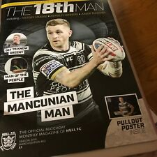 HULL FC RUGBY WARRINGTON CATALANS 2018 EXCLUSIVE MONTHLY PROGRAMME MARCH EDT 02