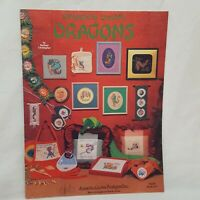Delightfully Dreadful Dragons 75 Counted Cross Stitch Booklet Jeanette Crews