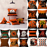 Halloween Pumpkin Throw Pillow Cover Pillowcases Decorative Sofa Cushion Cover z