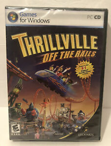 Thrillville: Off the Rails (PC, 2007) NEW