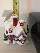 Christopher Radko Holiday Hideaway Rare Christmas Ornament Limted Box New Tag