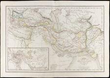 De 1847, Carte ancienne des conquète d'Alexandre le Greand (Delamarche)