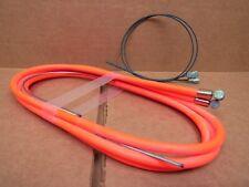 New-Old-Stock Casiraghi MTB Brake Cable/Housing Set - Neon Orange