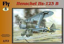 HENSCHEL HS-129 B,GERMAN LIGHT BOMBER (LUFTWAFFE VER.),FLY 72010,SCALE 1/72