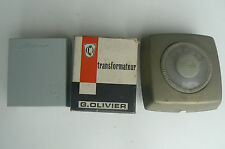Ancien transformateur 12V G.OLIVIER + Thermostat DANFOSS