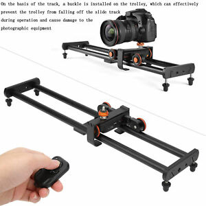 Motorized Electric Slider Dolly Demountable Video Track for Cameras Smart Phone