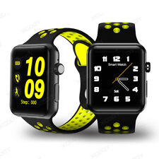 Imperméable Bluetooth Montre Connecté SIM GSM Smartwatch Pour iPhone 6 7 Android