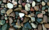 15 lbs Natural  Aquarium Fish Tank Gravel, Pebbles and  color stones