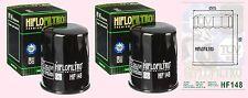 2x HF148 Oil Filter for Yamaha TGB 425 525 & 550 Blade Outback Target ATV models