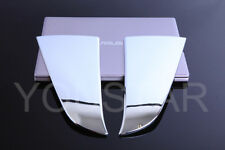 FAST EMS x2 CHROME Fender Wing Vent Covers for Jaguar XF XFR XFR-S X250 11-15