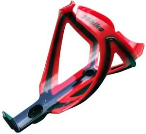 JGBike Water Bottle Cage Polyamide Glass Fiber Lightweight Red & Black Mtn Bike