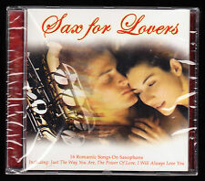 SAX FOR LOVERS - 16 TRACKS - SACRIFICE, POWER OF LOVE, ALWAYS - NEW & SEALED CD