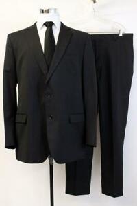 BROOKS BROTHERS 1818 SUIT Dark Blue FITZGERALD FIT Blazer Jacket Coat Mens 48 L