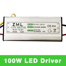 5X100W SMD Led Driver 110~240V TO 27~38V Waterproof Transformer Power Supply