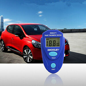Car Painting Thickness Tester Paint Meter Digital Coating Measuring Gauge Meter