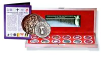Crusader Friends /& Foes 6 Silver Coin Collection in Beautiful Presentation Box