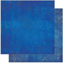 BoBunny 12x12 papel scrapbooking Doble Dot, Arándano Vintage X 2 Hojas