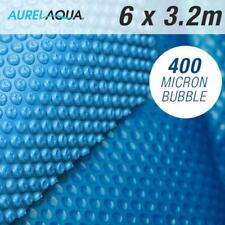 NEW Solar Swimming Pool Cover - 6x3.2 Outdoor Bubble Blanket Heater 400 BUBBLE