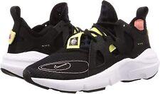 Nike Men's Huarache Type Running Shoes, Black, Size 9.0 hkLr