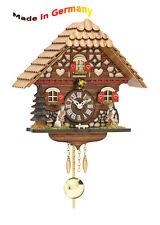 Quartz Forêt noire Horloge à pendule avec Coucou, fabriqué en Allemagne, idée