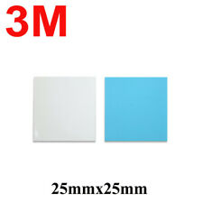 4pcs 3M 8810 Thermal Conductive Tape Pad for IC Heatsink square 25mmx25mm
