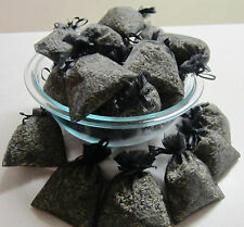 Set of 80 Lavender Sachets made with Black Organza Bags