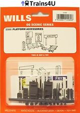 Wills SS68 Platform Accessories (OO Scale)