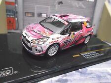 CITROEN DS3 R3 Rallye #100 Elena Monte Carlo 2011 AIIPorts SP IXO 1:43