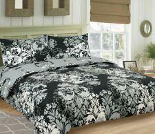 Linge de lit et ensembles noir à motif Floral