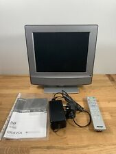 "Sony Bravia KDL-15G2000 15"" LCD Colour TV Freeview - FREE UK P&P"