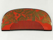Antique Japanese Celluloid Comb Kushi-kanzashi Hair Ornament From Kyoto: May18H