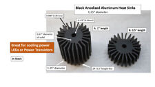 Circular Heat Sinks Anodized Aluminum Great For Leds Power Transistors