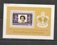 GRENADA GRENADINES , 1978 CORONATION , MINIATURE SHEET MNH