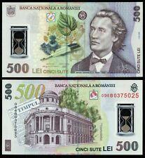 ROMANIA 500 LEI 2005 (2009) P#123 POLYMER NOTE UNC
