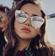 NEW QUAY Super Girl Pink/Silver Mirror Sunglasses