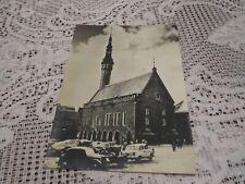 VINTAGE POSTCARD TALLINN RUSSIA CCCP 1967 TOWN HALL