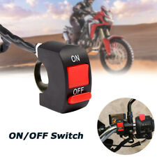 10X ATV Bike Kill Stop ON-OFF 12V 10 x 7/8''Motorcycle Handlebar Scooter Switch