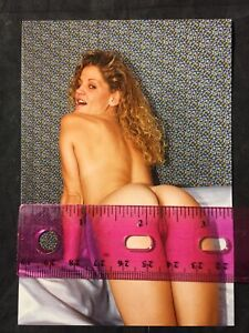 Vtg 70's Pinup Girl Snapshot Risque Nylons Nude Spread Eagle Color Photo lot 8