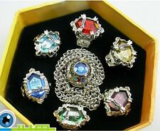 Anime Katekyo Hitman Reborn Vongola Ring 7 PCS Necklace WJY801