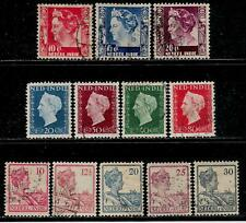 Netherlands Colony NETHERLANDS INDIE 1921 - 1948 Old Stamps - Queen Wilhelmina